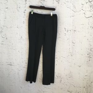 THEORY BLACK SHINY DRESS PANTS 4